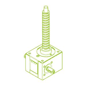 GSZ R-шариковый винт 10 кН | 25x10