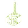 GSZ R-трапецеидальный винт 10 кН | 20x4