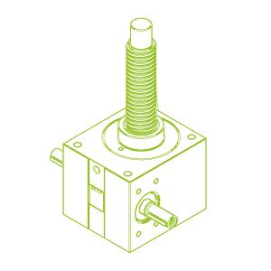 GSZ R-трапецеидальный винт 100 кН | 55x9