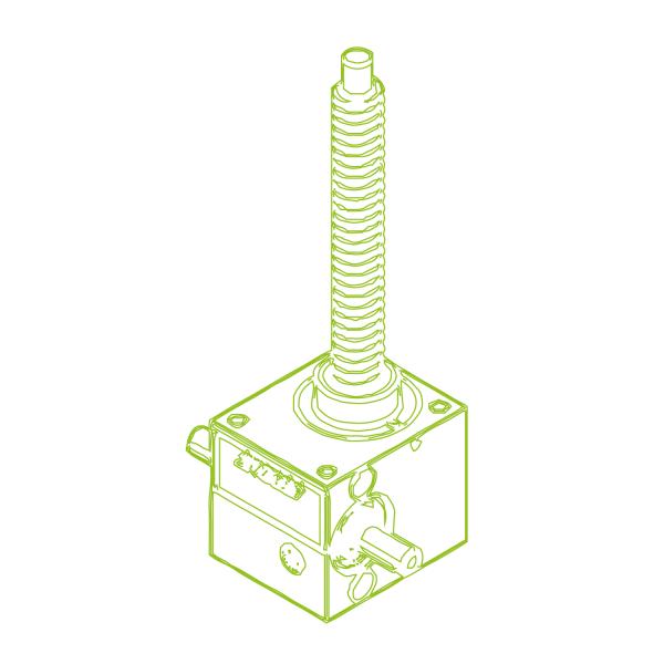 GSZ R-трапецеидальный винт 2,5 кН | 16x4