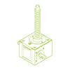 GSZ R-трапецеидальный винт 5 кН | 18x4