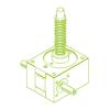 GSZ R-трапецеидальный винт 25 кН | 30x6