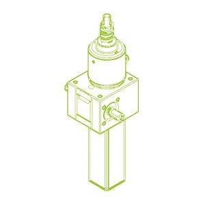 GSZ S-шариковый винт 10 кН | 25x10