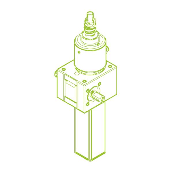 GSZ S-шариковый винт 10 кН   25x50