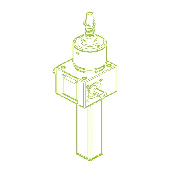 GSZ S-шариковый винт 5 кН   16x10