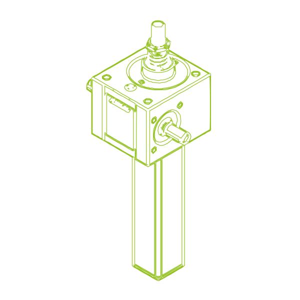 GSZ S-трапецеидальный винт 10 кН | 20x4