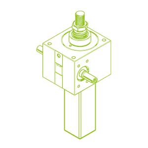 GSZ S-трапецеидальный винт 100 кН | 55x9