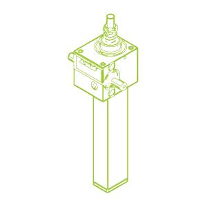 GSZ S-трапецеидальный винт 2,5 кН | 16x4