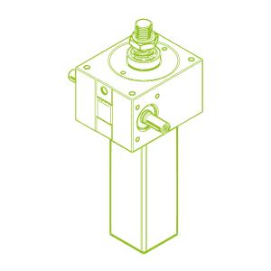GSZ S-трапецеидальный винт 50 кН | 40x7