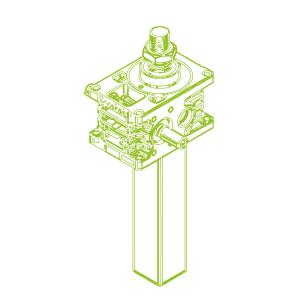 Z S-трапецеидальный винт 35кН | 40x7
