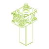 Z S-трапецеидальный винт 50кН | 40x7