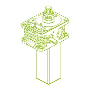 Z S-трапецеидальный винт 50кН | 50x8