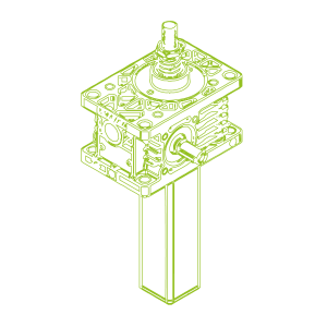 Z S-трапецеидальный винт 5кН | 18x4