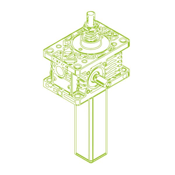 Z S-трапецеидальный винт 5кН   18x4