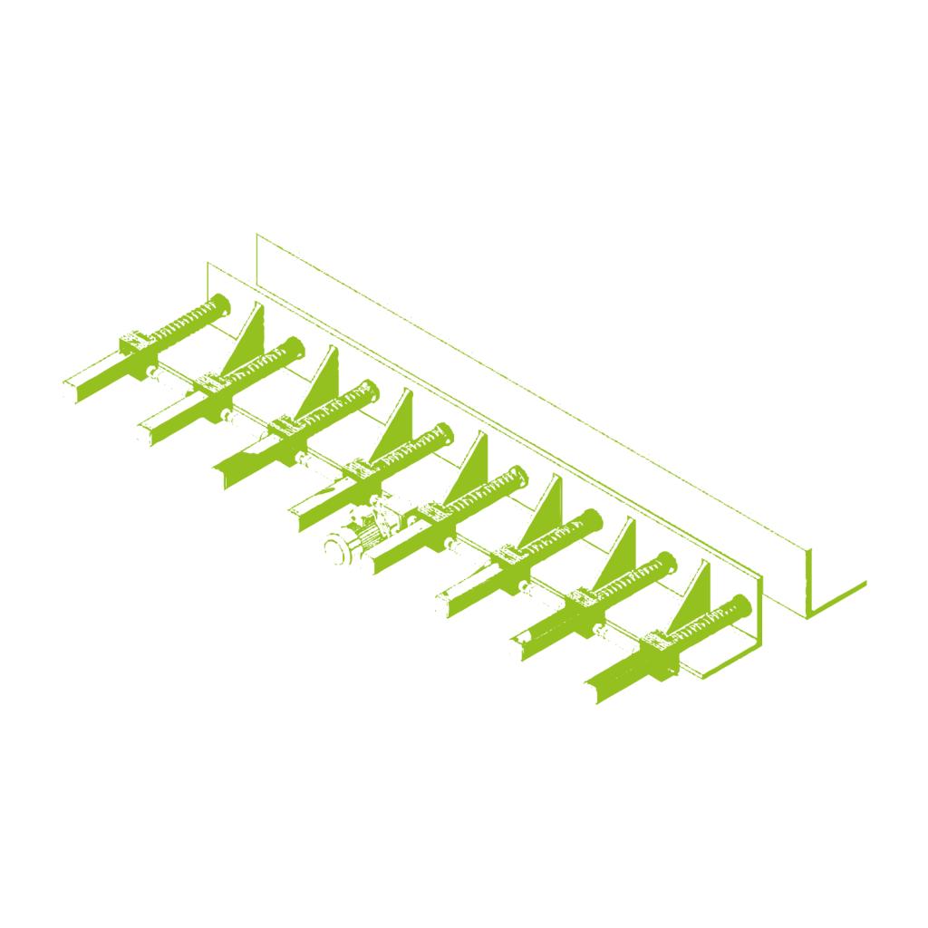 Регулировка стальной опалубки для изготовления железобетонных балок