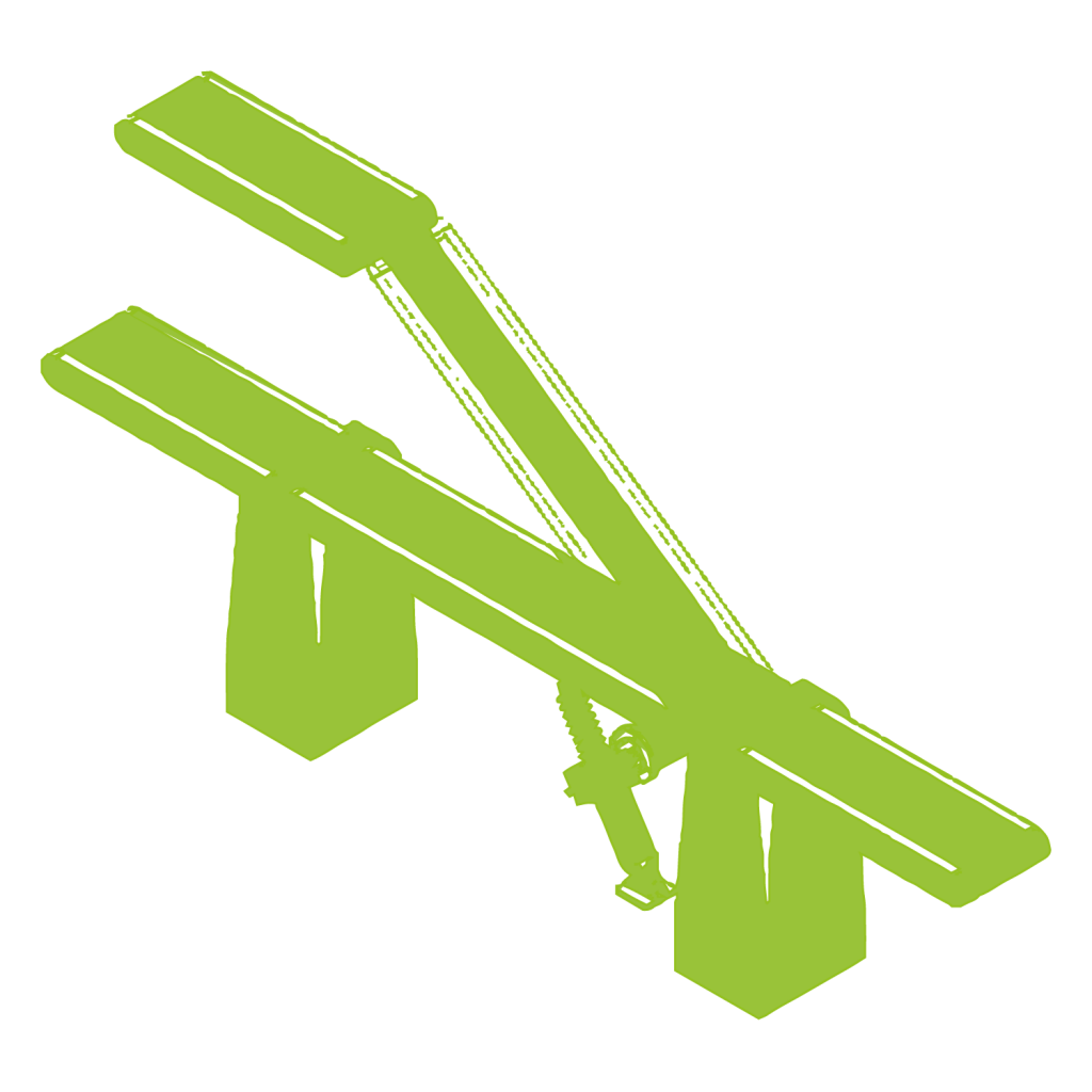 Система наклонного конвейера