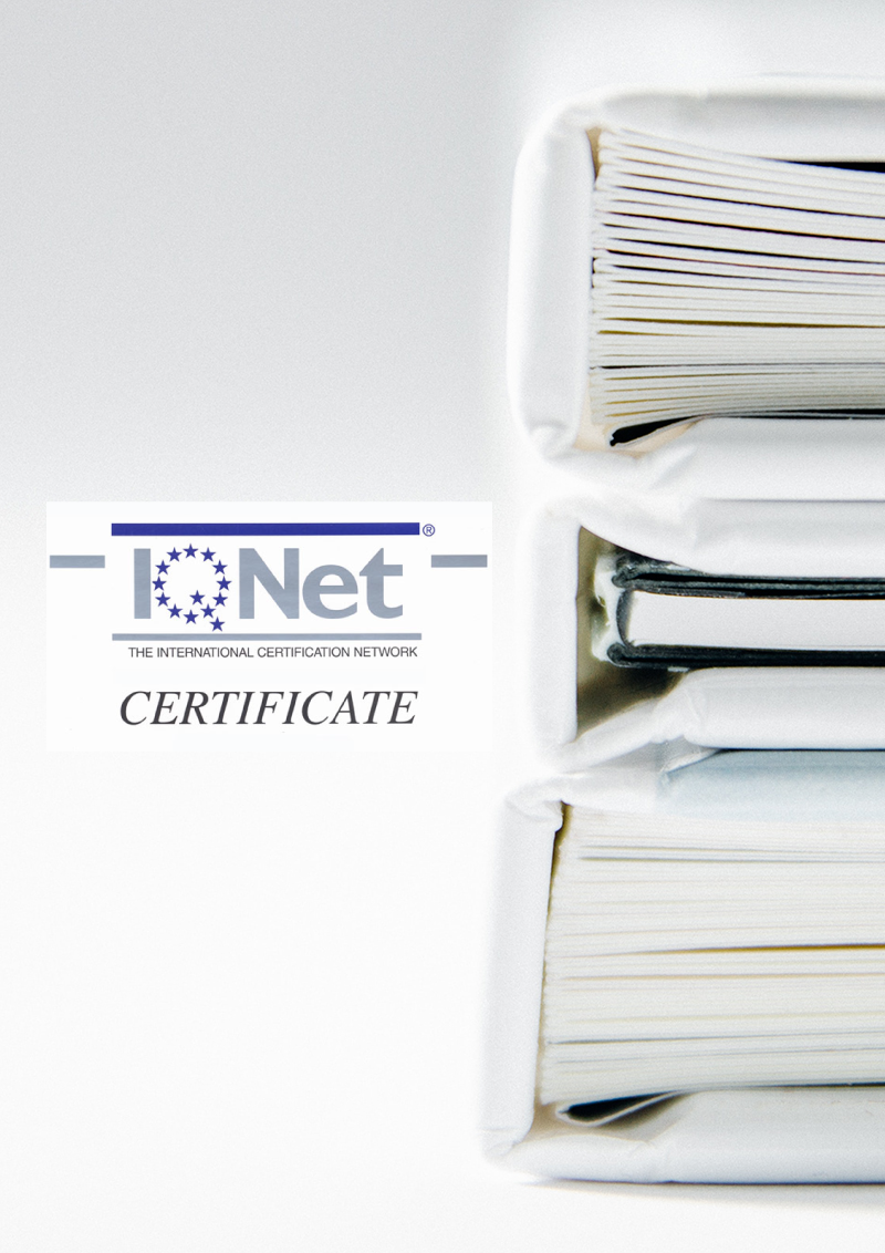 ISO 9001 Certificate | International